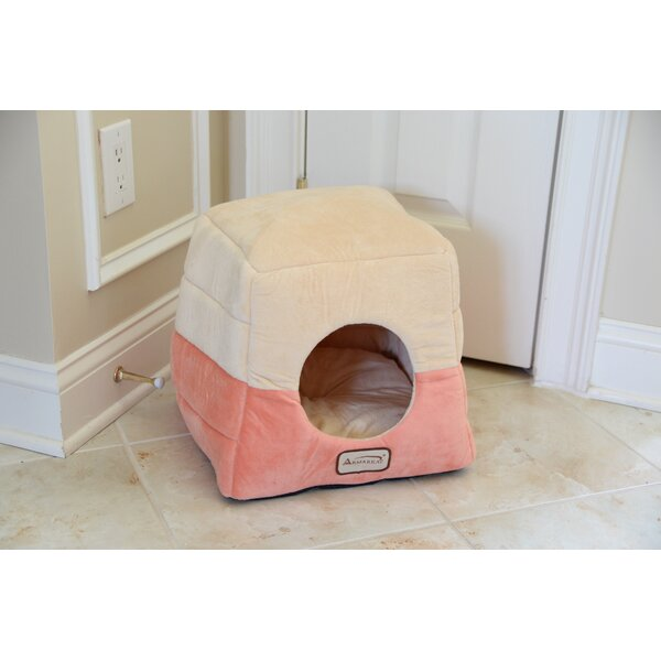 Cat Bed in Orange and Beige by Armarkat
