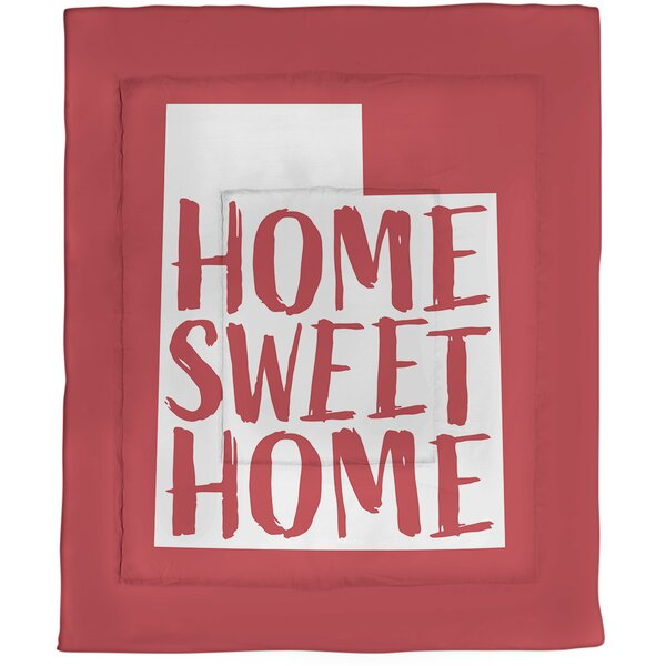 Utah Home Sweet Single Reversible Comforter