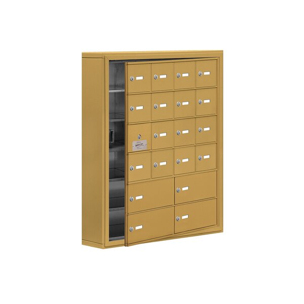 6 Tier 4 Wide EmpLoyee Locker by Salsbury Industries