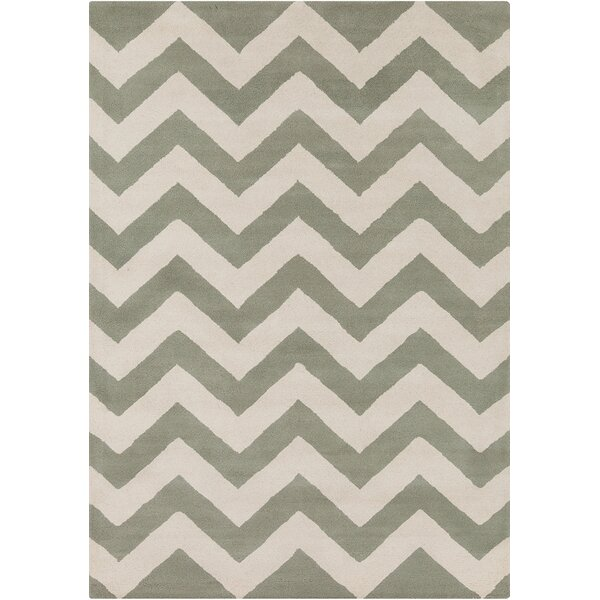 Steward Hand Woven Chevron Rug by Latitude Run
