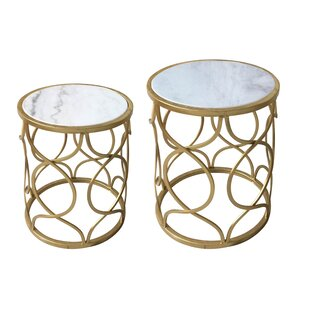Best Deals Dickey 2 Piece Nesting Tables By Mercer41