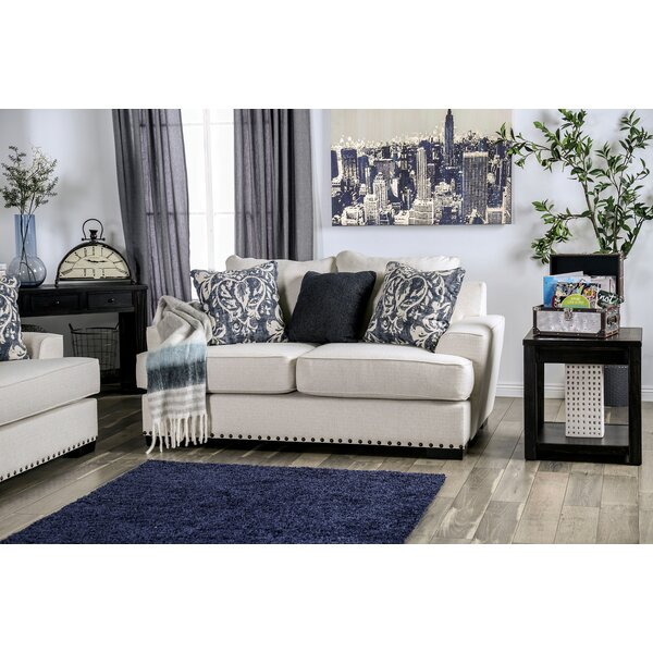 Nellie T-Cushion Loveseat by Longshore Tides