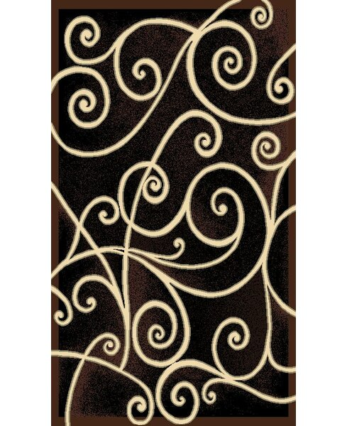 Gallery Black Area Rug by American Cover Designs