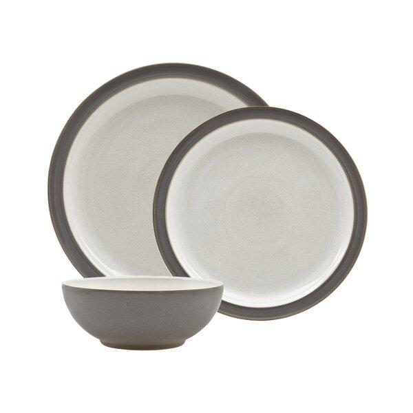 Canvas Blend 12 Piece Dinnerware Set, Service for 4 by Denby