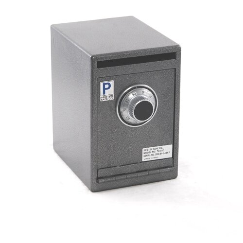 Heavy-Duty Depository Safe with Combination Dial Lock by Protex Safe Co.