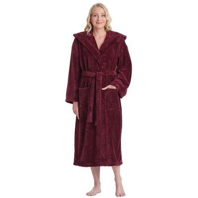 a69fd0a80c Kaleb Women s Satin Touch Fleece Bathrobe