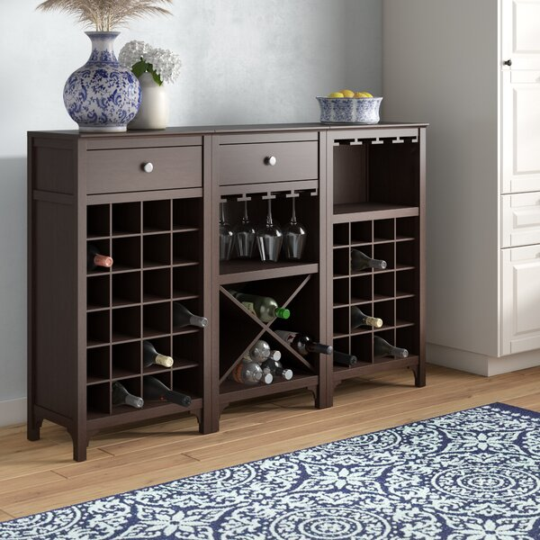 Ancona 44 Bottle Wine Cabinet by Alcott Hill Alcott Hill