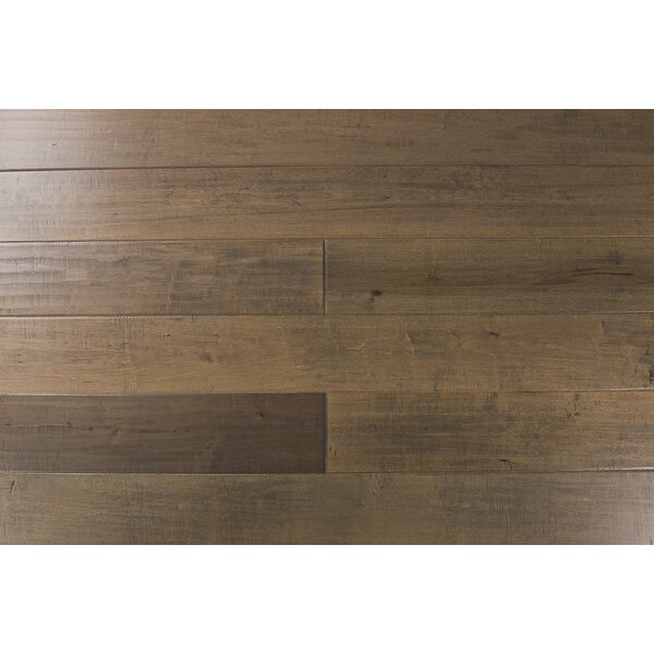 Fieldstone 7-1/2 Engineered Maple Hardwood Flooring in Borneo by Albero Valley