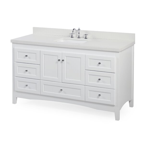 Abbey 60 Single Bathroom Vanity Set By Kitchen Bath Collection.