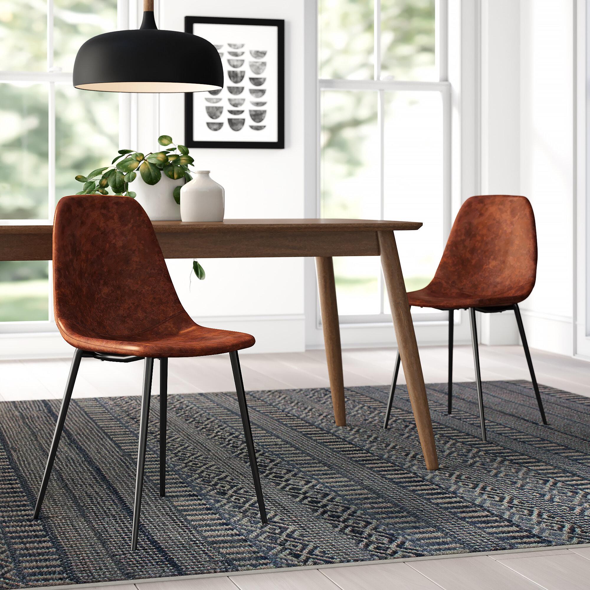 Strange Neil Upholstered Dining Chair Reviews Allmodern Pdpeps Interior Chair Design Pdpepsorg
