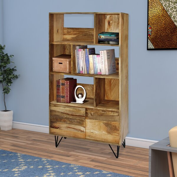 Novack Commodious Standard Bookcase by Union Rustic