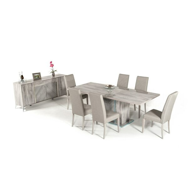 Labombard Modern 9 Piece Extendable Dining Set by Brayden Studio