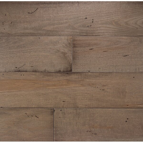 Wide Plank 6 Engineered Maple Hardwood Flooring in Mist by Somerset Floors