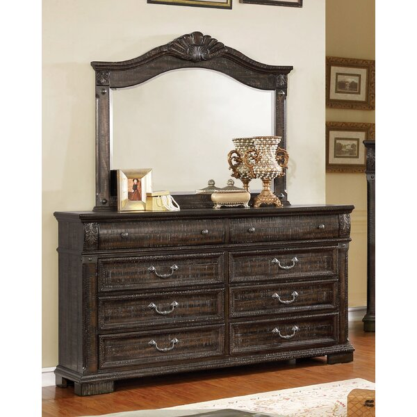 Mable 8 Drawer Double Dresser with Mirror by Canora Grey
