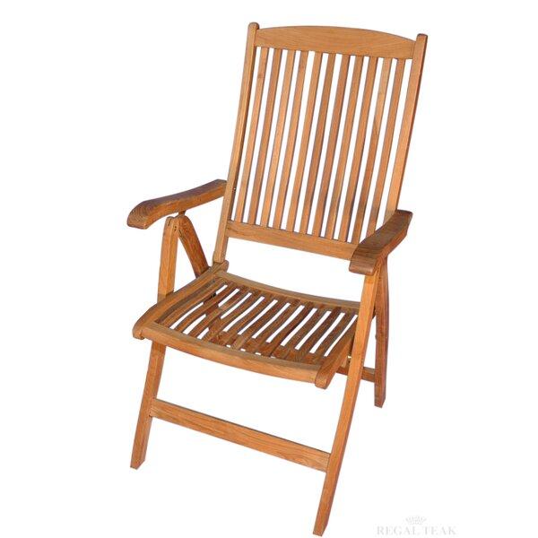 Salisbury Teak Patio Dining Chair by Regal Teak