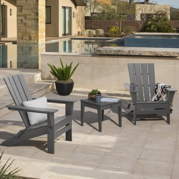 Quattro 3 Piece Conversation Set by POLYWOOD®