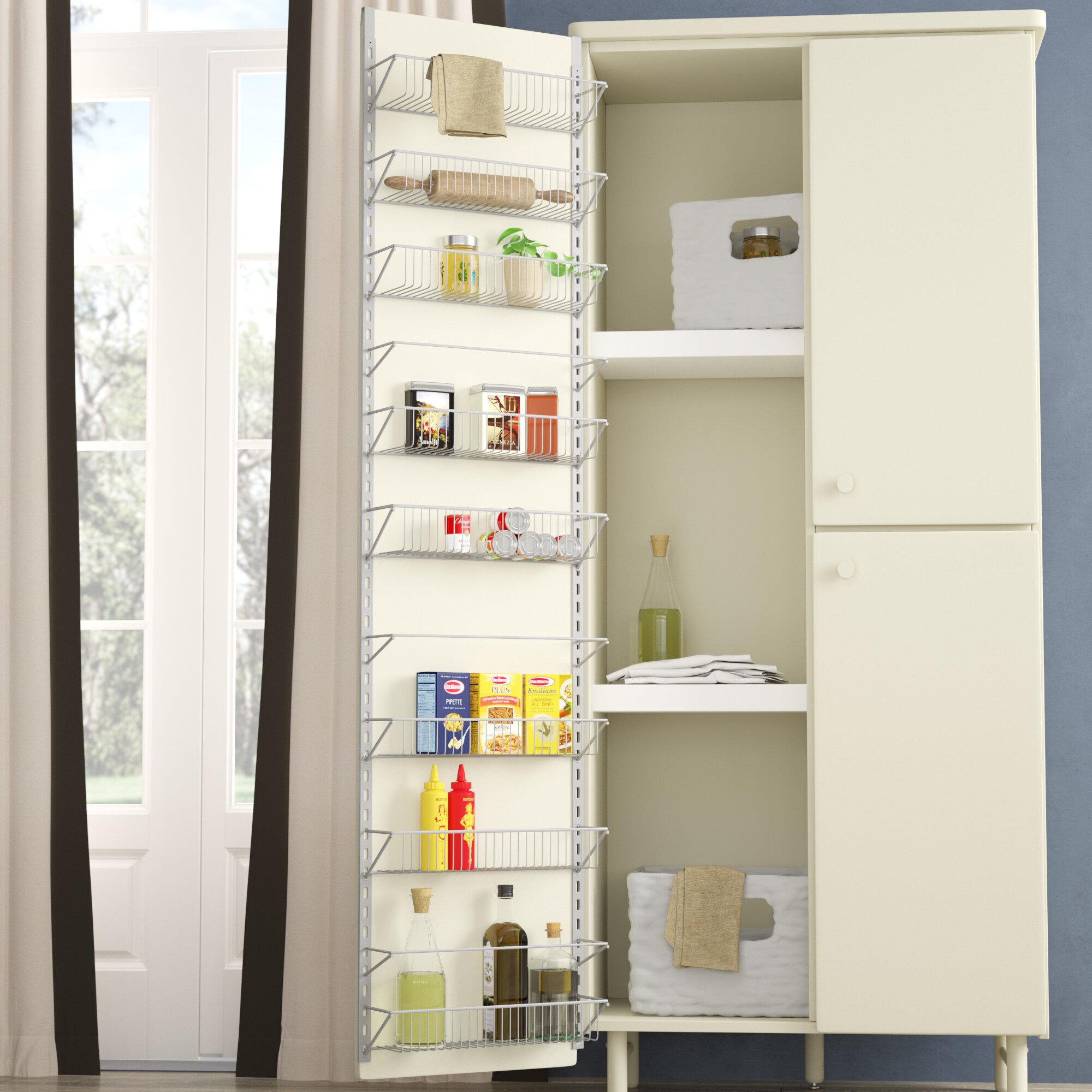Rebrilliant Davidson Kitchen Over Cabinet Door Organizer Reviews