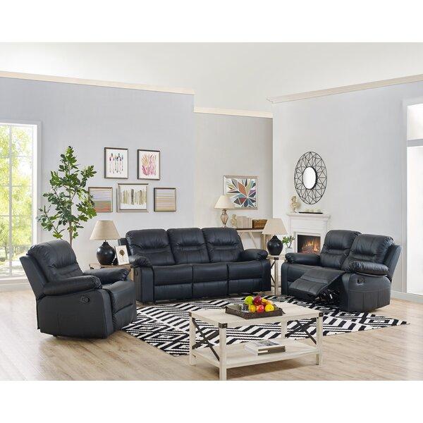 Esser 3 Piece Reclining Living Room Set by Winston Porter