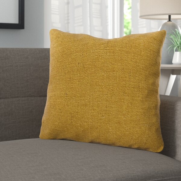 Deskins Turmeric Luxury Pillow by Corrigan Studio
