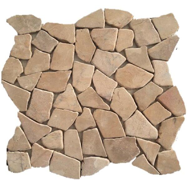 Rainforest 12 x 12 Natural Stone Pebble Tile