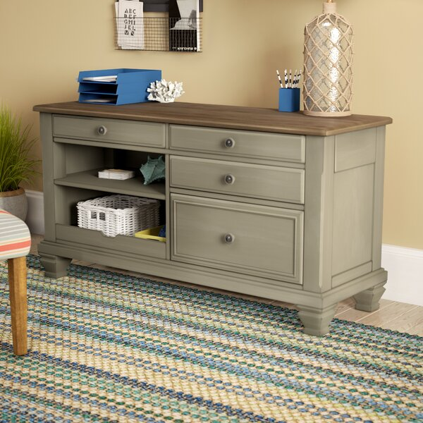 Mason Credenza Desk by Beachcrest Home