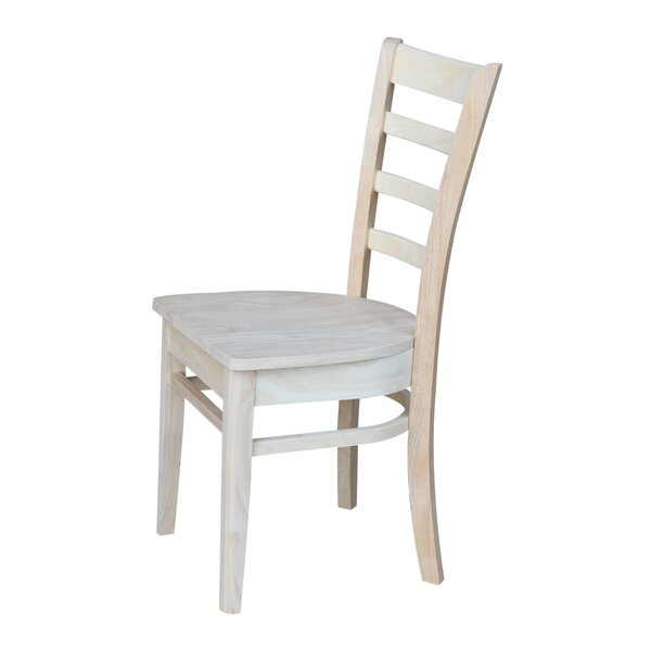 Bloomfield Solid Wood Dining Chair (Set Of 2) By Breakwater Bay
