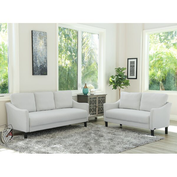 Buckwalter 2 Piece Living Room Set by Charlton Home