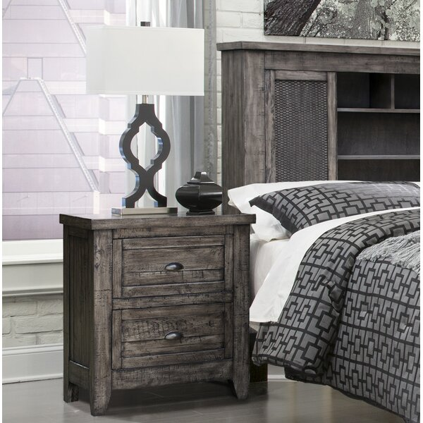 Roberson 3 Drawer Nightstand by Union Rustic