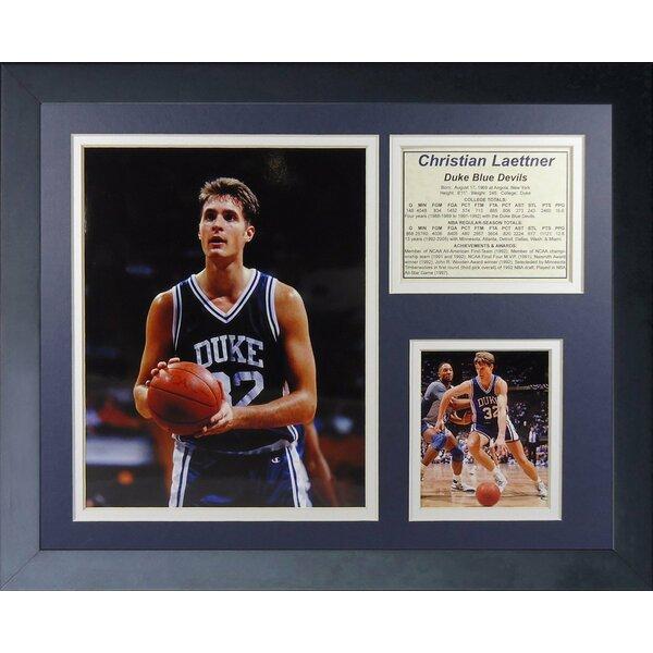 Christian Laettner Duke Framed Memorabilia by Legends Never Die