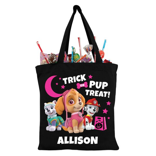 Paw Patrol Skye and Pups Trick-or-Treat Bag by CPS