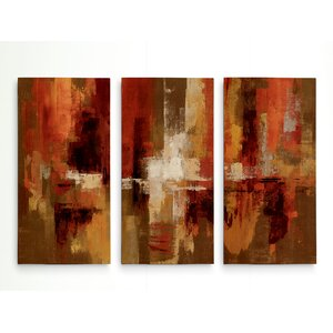 'Castanets' Acrylic Painting Print Multi-Piece Image on Wrapped Canvas by George Oliver