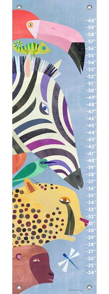 Jed Animals Growth Chart by Harriet Bee