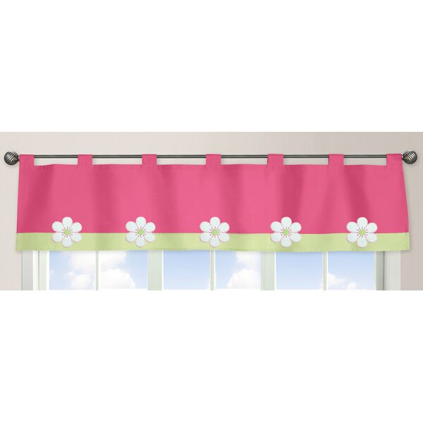 Flower 84 Curtain Valance by Sweet Jojo Designs