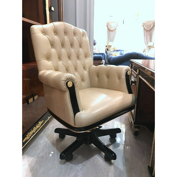 Bremond Genuine Leather Executive Chair