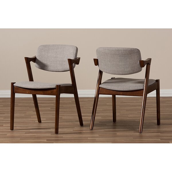 Carpio Upholstered Dining Chair (Set of 2) by George Oliver George Oliver