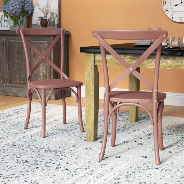 Abdallah Vintage Dining Chair (Set of 2) by August Grove