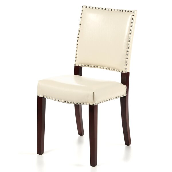 Dinardo Bicast Upholstered Dining Chair (Set of 2) by Willa Arlo Interiors