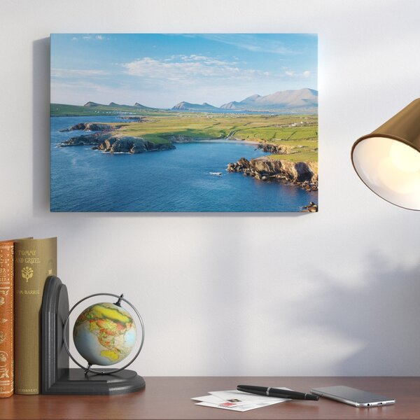 Dingle Peninsula Photographic Print on Wrapped Canvas by Alcott Hill