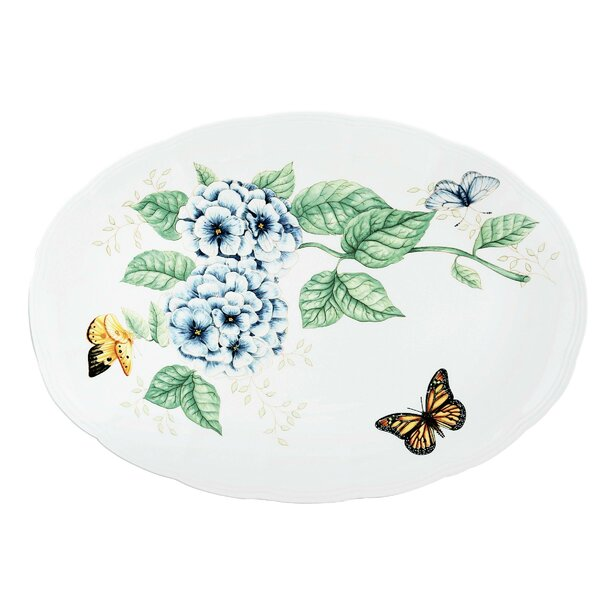 Butterfly Meadow Serving Tray by Lenox