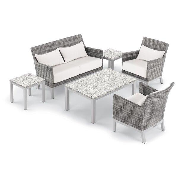Saint-Pierre 6 Piece Sofa Set with Cushions by Brayden Studio