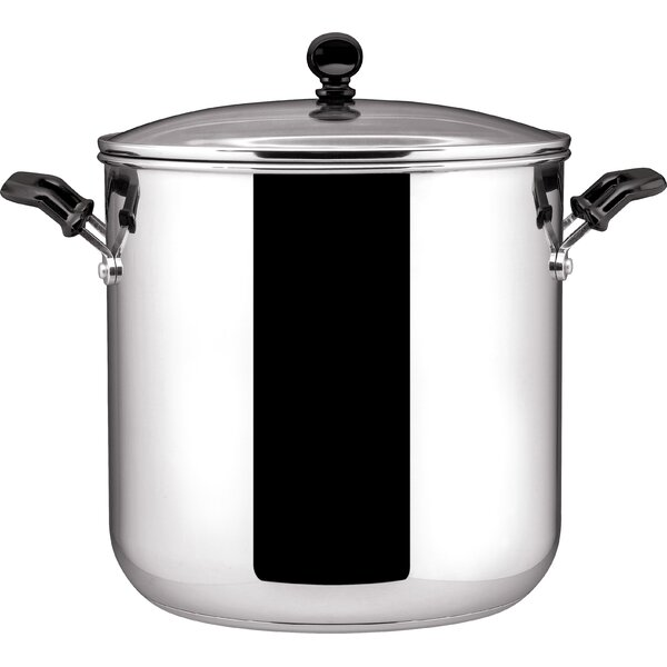 11 qt. Stainless Steel Stock Pot with Lid by Farberware