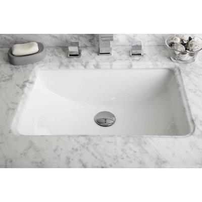 Undermount Rectangular Bathroom Sink elements of design castillo rectangular undermount bathroom sink
