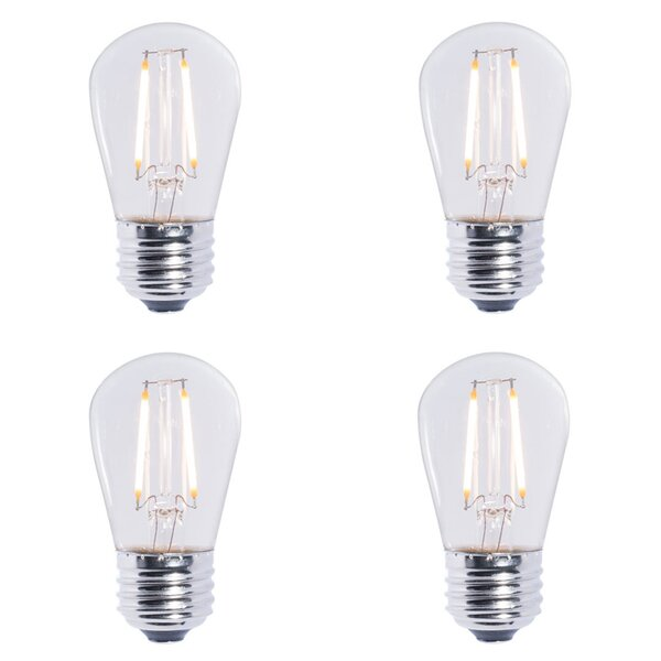 2W E26 Dimmable LED Light Bulb (Set of 4) by Bulbrite Industries