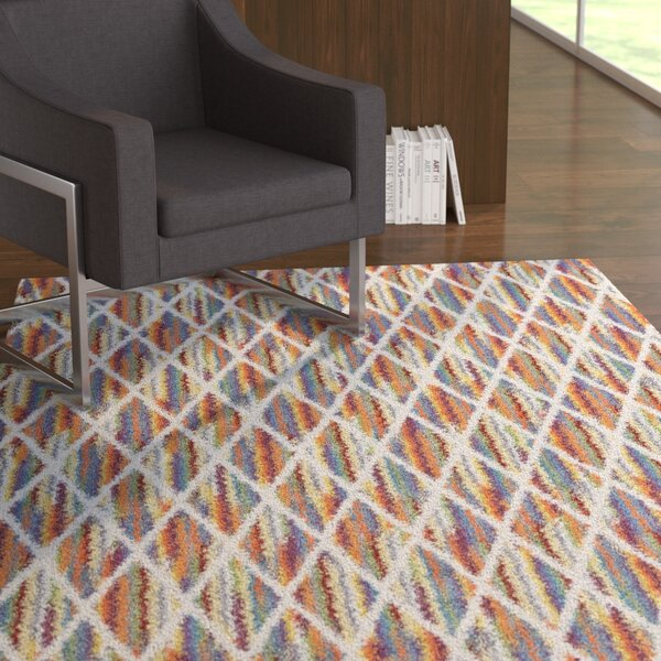 Watts Blue/Red Rug