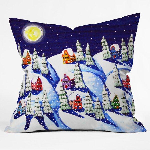 Renie Britenbucher Silent Night Throw Pillow by Deny Designs