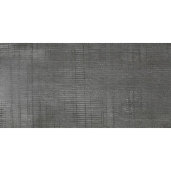Organic Rectified 12 x 24 Procelain Field Tile in Dark Gray by Travis Tile Sales