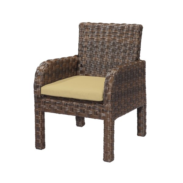 Patio Dining Chair With Cushion (Set Of 2) By Emerald Home Furnishings by Emerald Home Furnishings Best