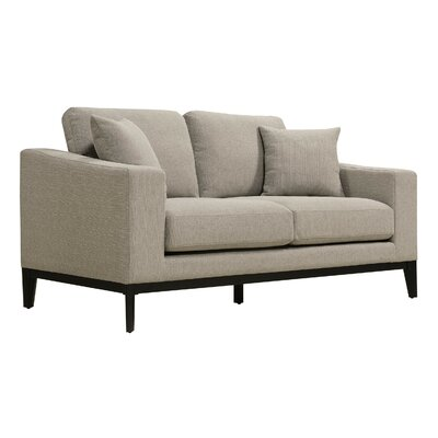 Arm Loveseat Square Linen pic
