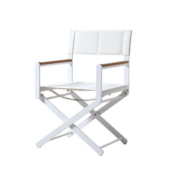 Ricky Directors Arm Chair with Cushion by Brayden Studio