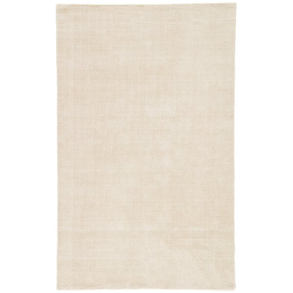 Fairlop Hand-Loomed Fog Area Rug by Charlton Home